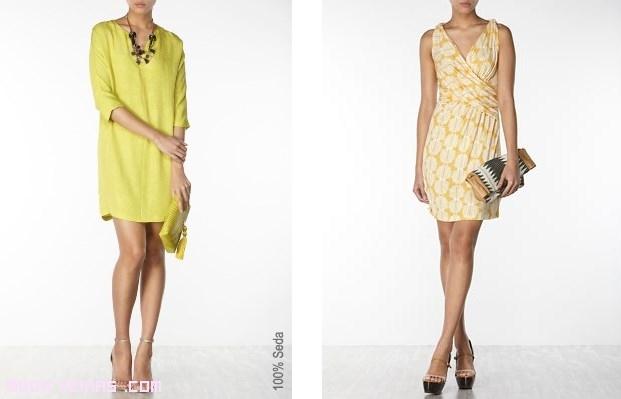 vestidos de color para verano