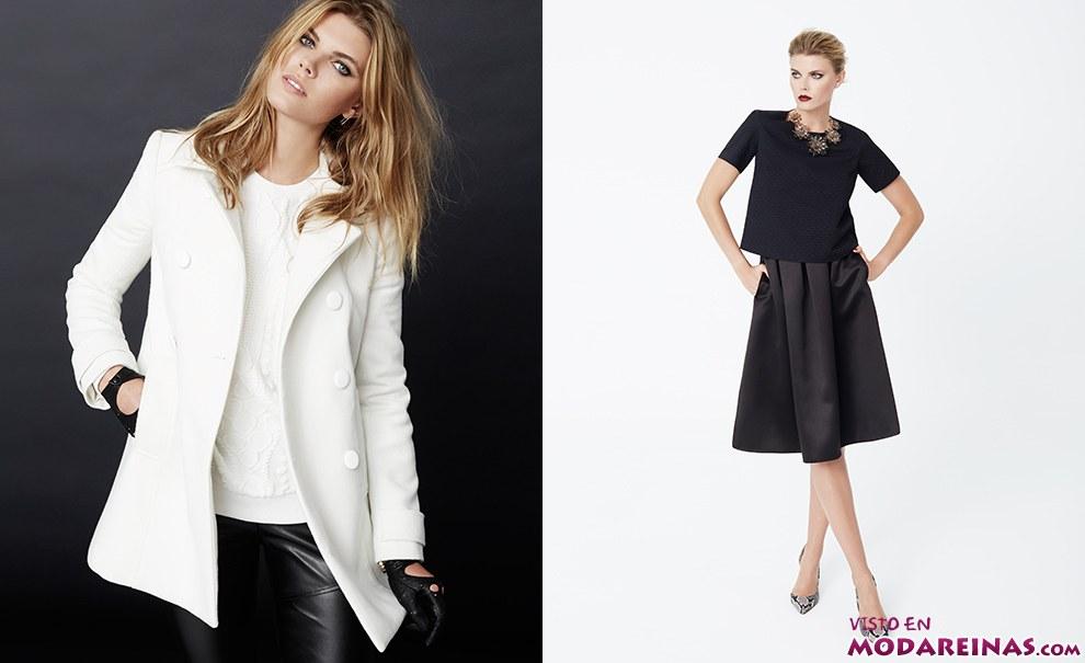 vestidos y abrigos