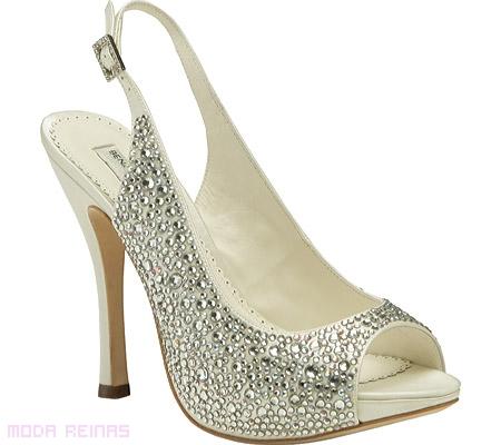 zapato brillo para noche