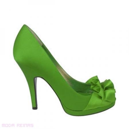 zapato color para bodas