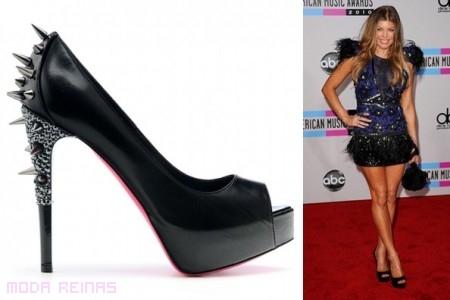 Fergie y su colección de zapatos