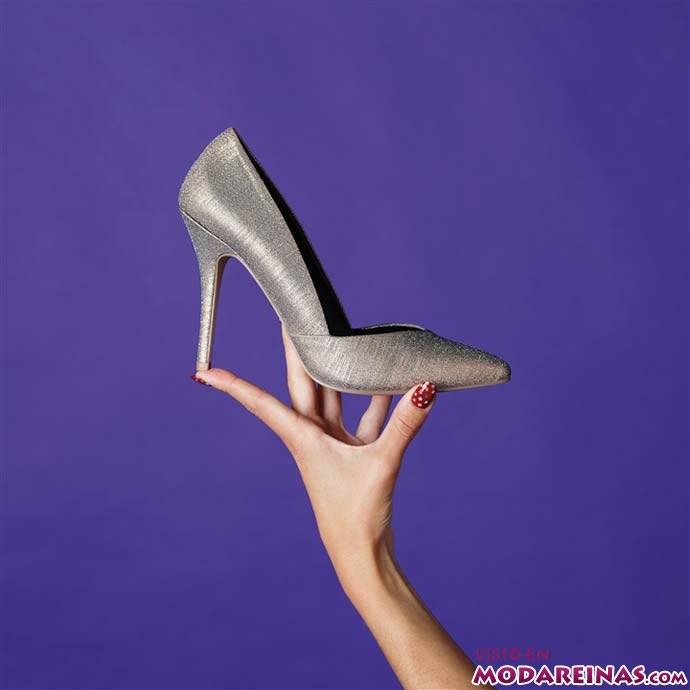 zapatos brillantes de Primark