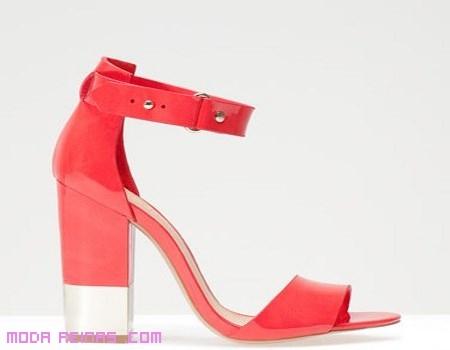 sandalias de pulsera en rosa