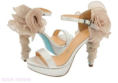 Zapatos de novia 2011