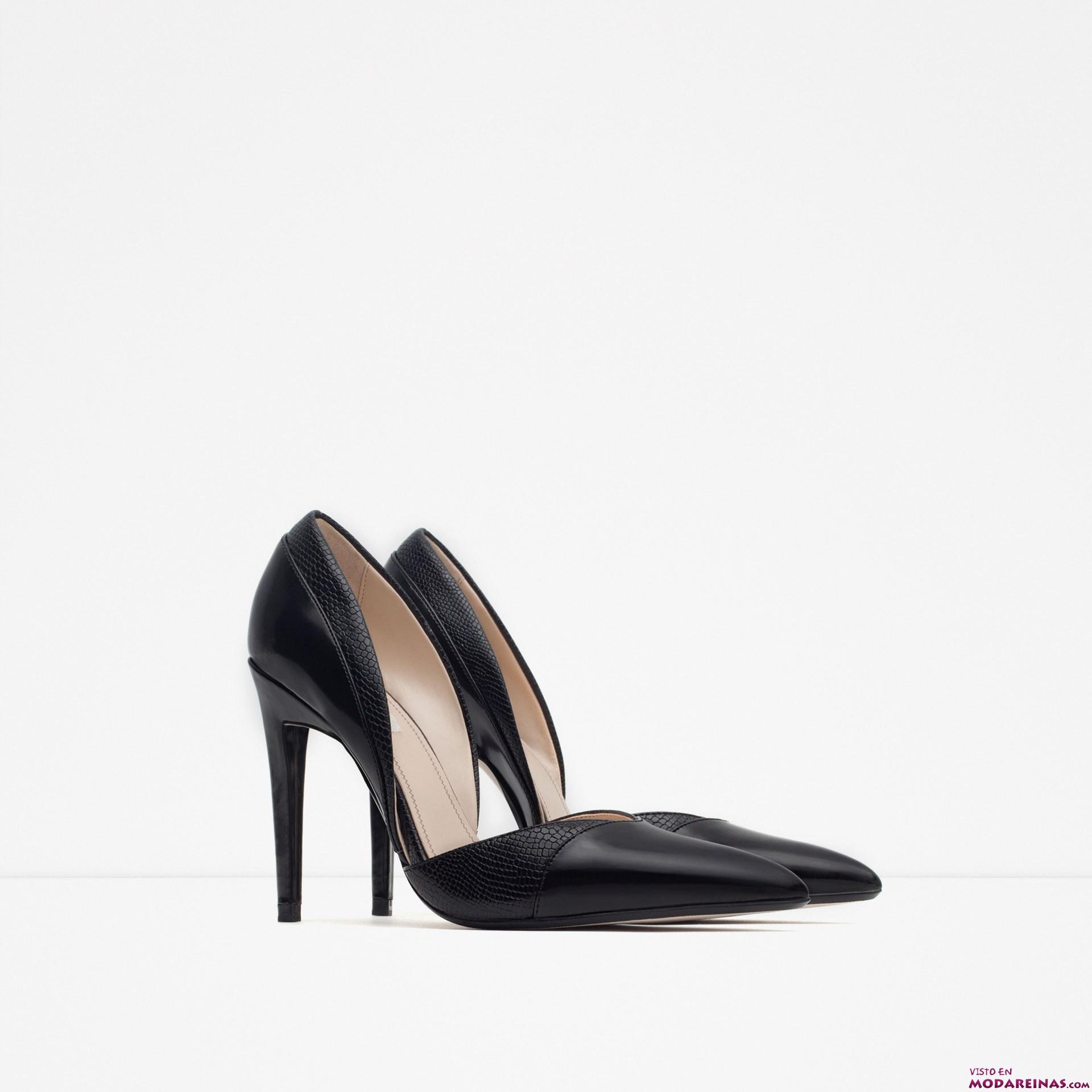 zapatos de salón para otoño zara