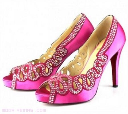 Zapatos rosas de Christian Louboutin
